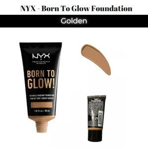 💋5/$20 1-NYX Born To Glow Foundation - Golden